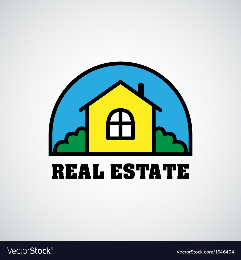 House real estate logo vector | Price: 1 Credit (USD $1)