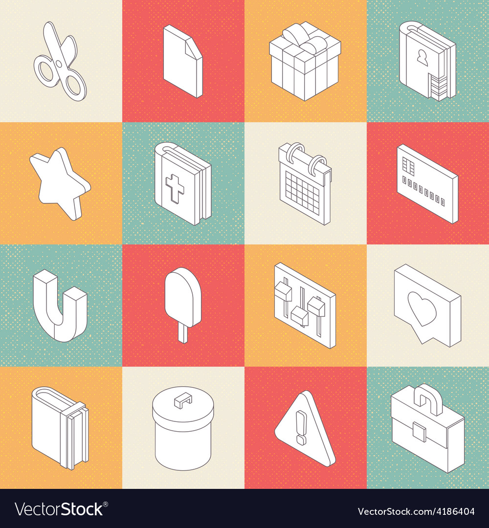 Modern flat icons 6 vector | Price: 1 Credit (USD $1)