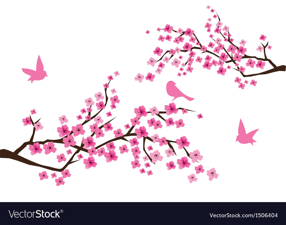 Sacura branches vector | Price: 1 Credit (USD $1)