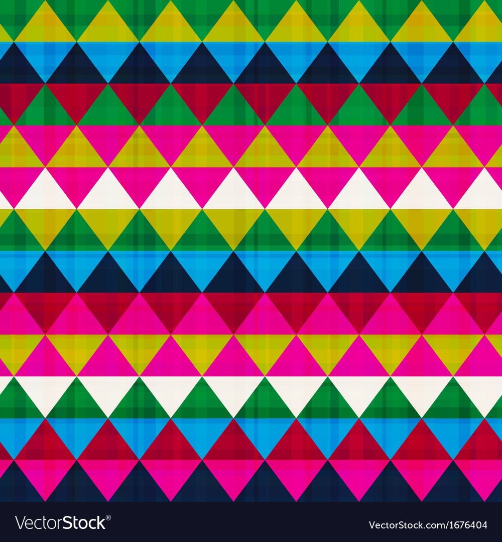 Seamless triangle background texture vector | Price: 1 Credit (USD $1)