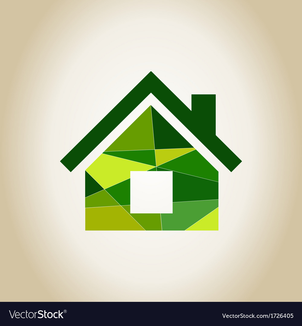 Abstract house vector | Price: 1 Credit (USD $1)