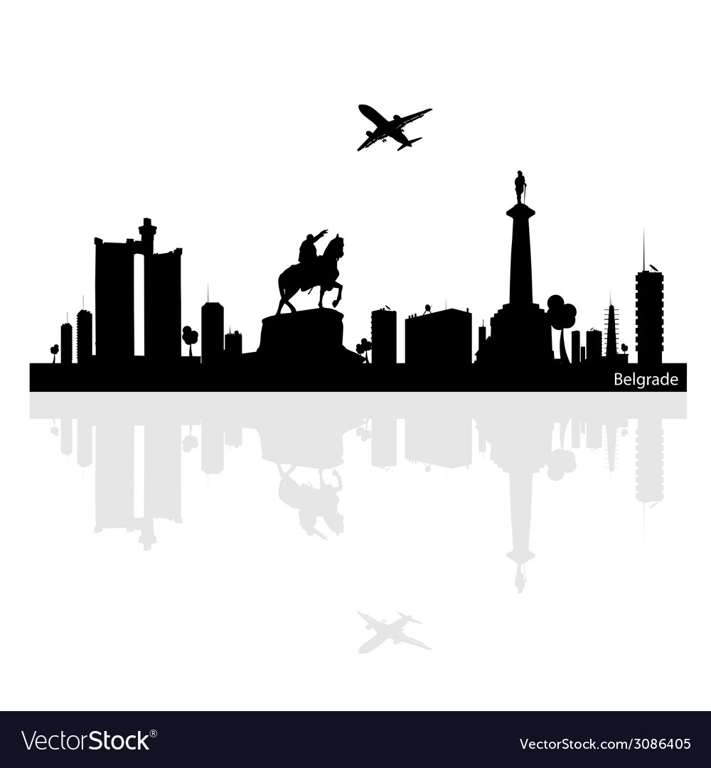 Belgrade vector   Price: 1 Credit (USD $1)