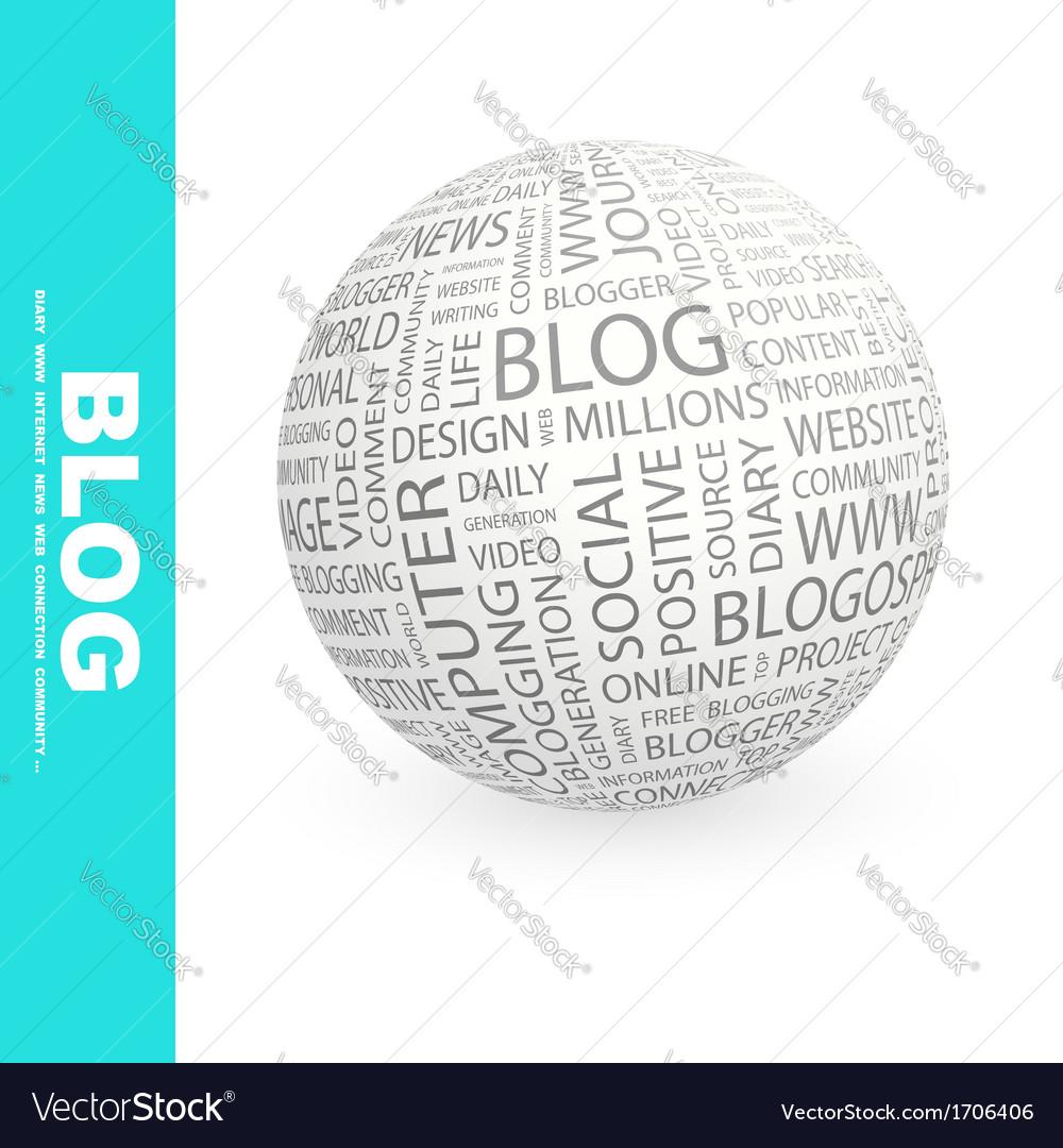 Blog vector | Price: 1 Credit (USD $1)