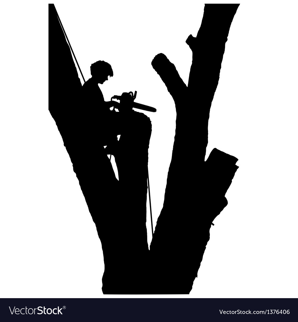 Tree cutter vector | Price: 1 Credit (USD $1)