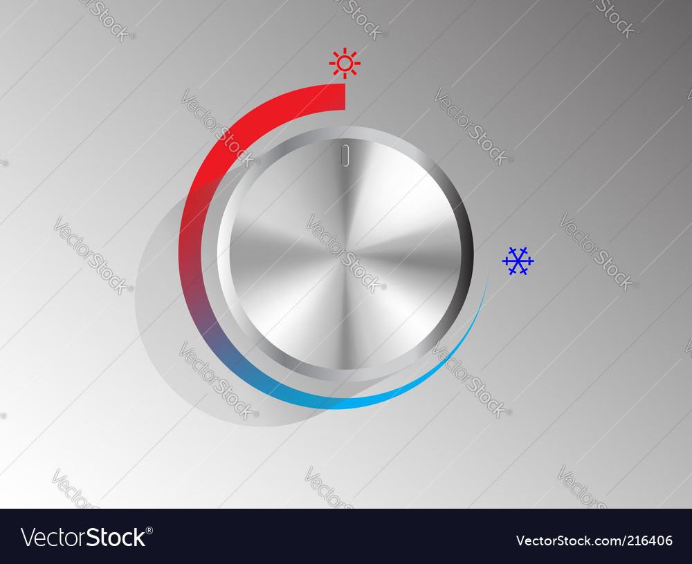 Volume knob vector | Price: 1 Credit (USD $1)