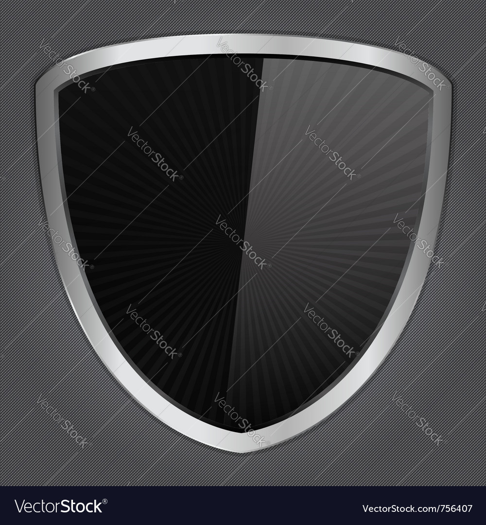 Black shield vector | Price: 1 Credit (USD $1)