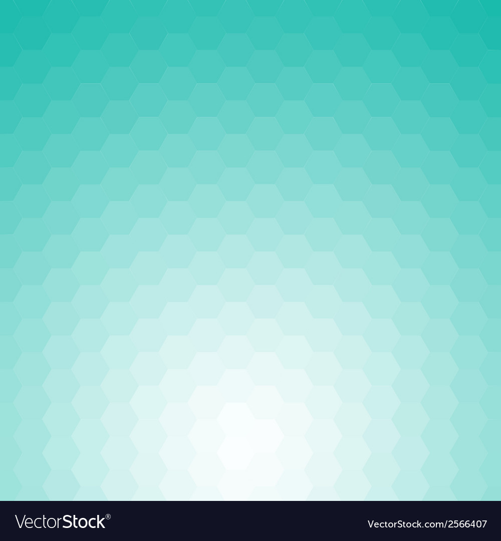 Happy abstract aquamarine geometric background vector | Price: 1 Credit (USD $1)