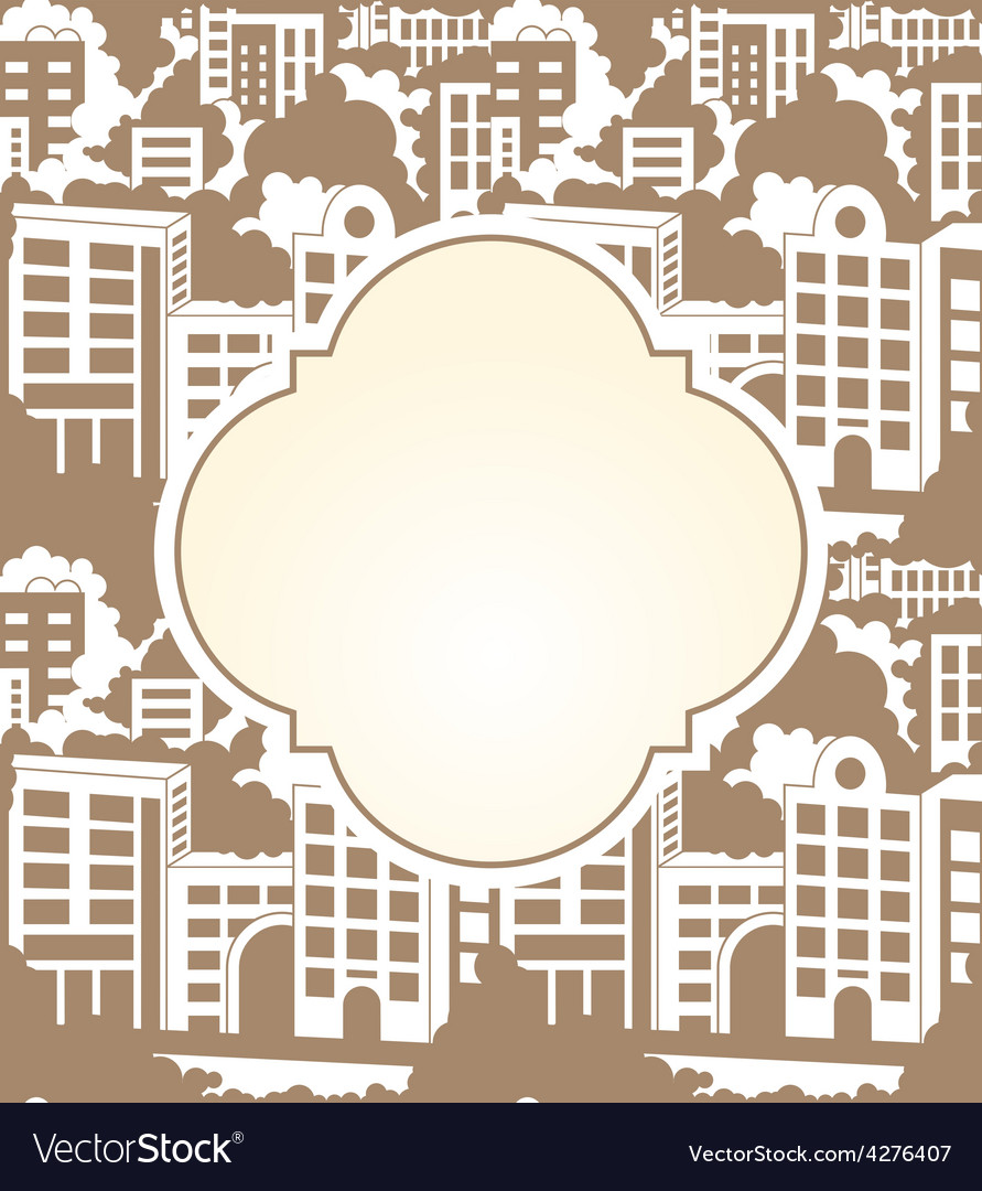 Town label seamless vector | Price: 1 Credit (USD $1)