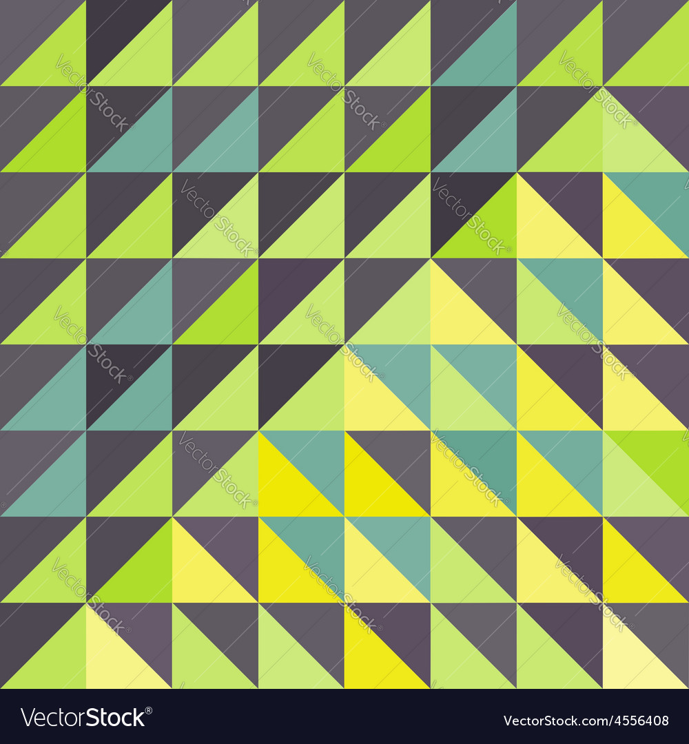 Geometric triangles background mosaic vector | Price: 1 Credit (USD $1)
