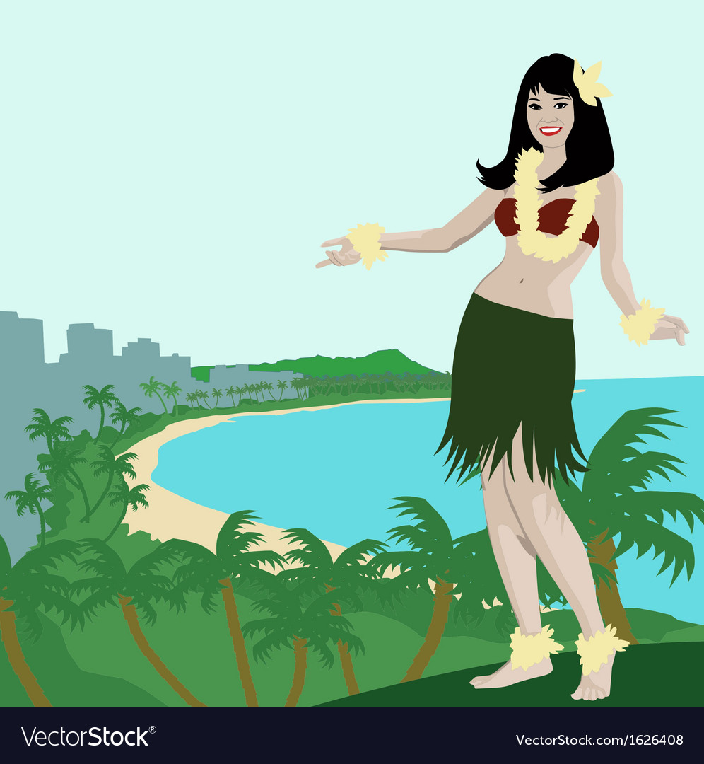 Hawaii aloha vector | Price: 1 Credit (USD $1)