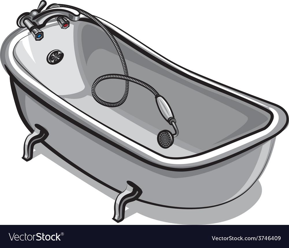 Bathtub vector | Price: 3 Credit (USD $3)