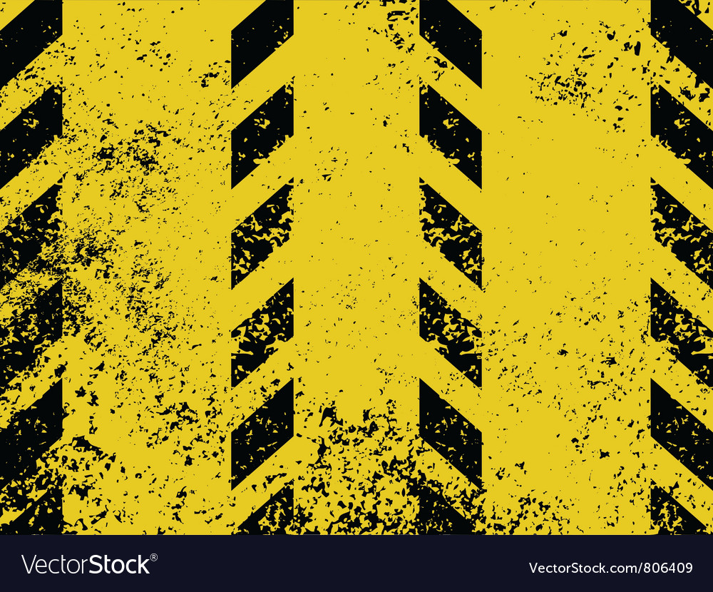 Grungy and worn hazard stripes vector | Price: 1 Credit (USD $1)