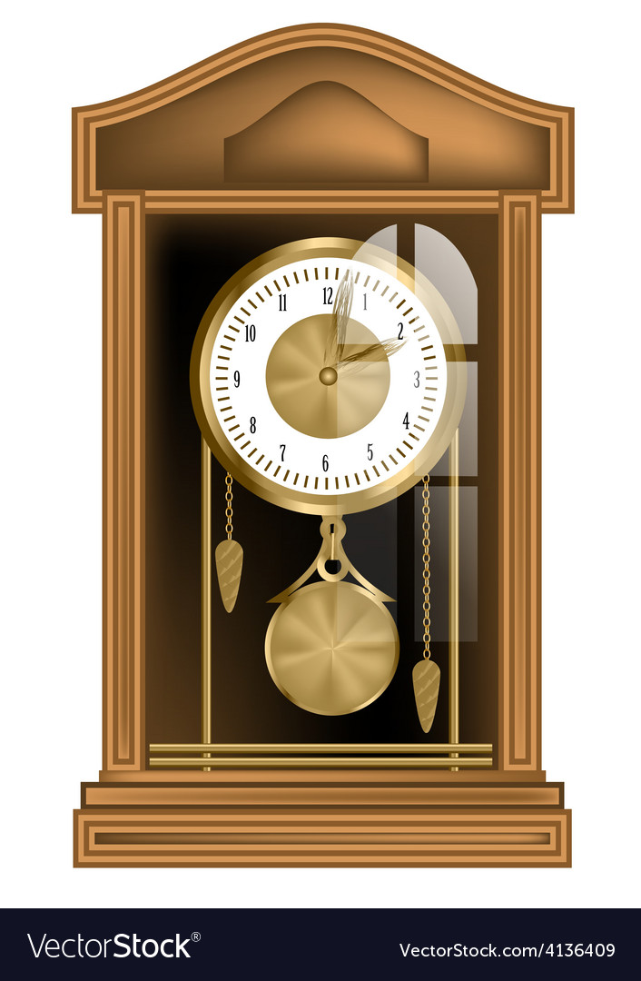 Pendulum clock vector | Price: 3 Credit (USD $3)
