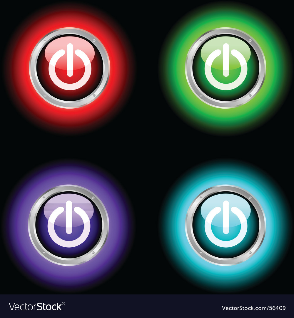 Power buttons vector   Price: 1 Credit (USD $1)