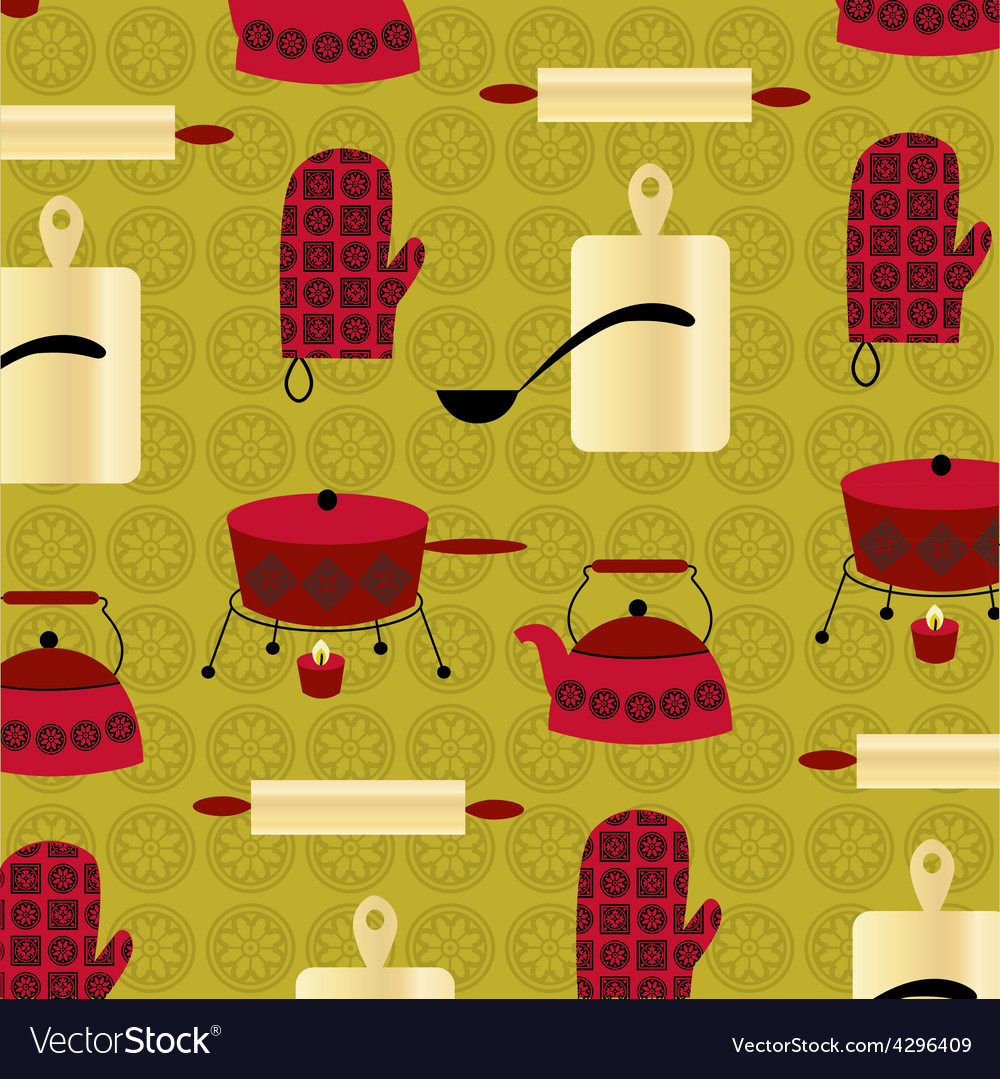 Retro fondue vector | Price: 1 Credit (USD $1)