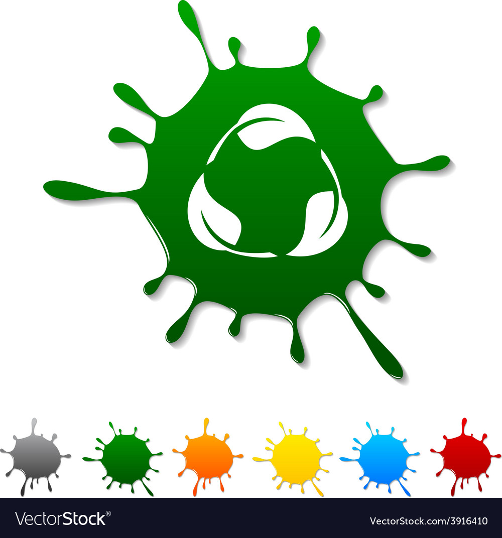 Recycle blot vector | Price: 1 Credit (USD $1)
