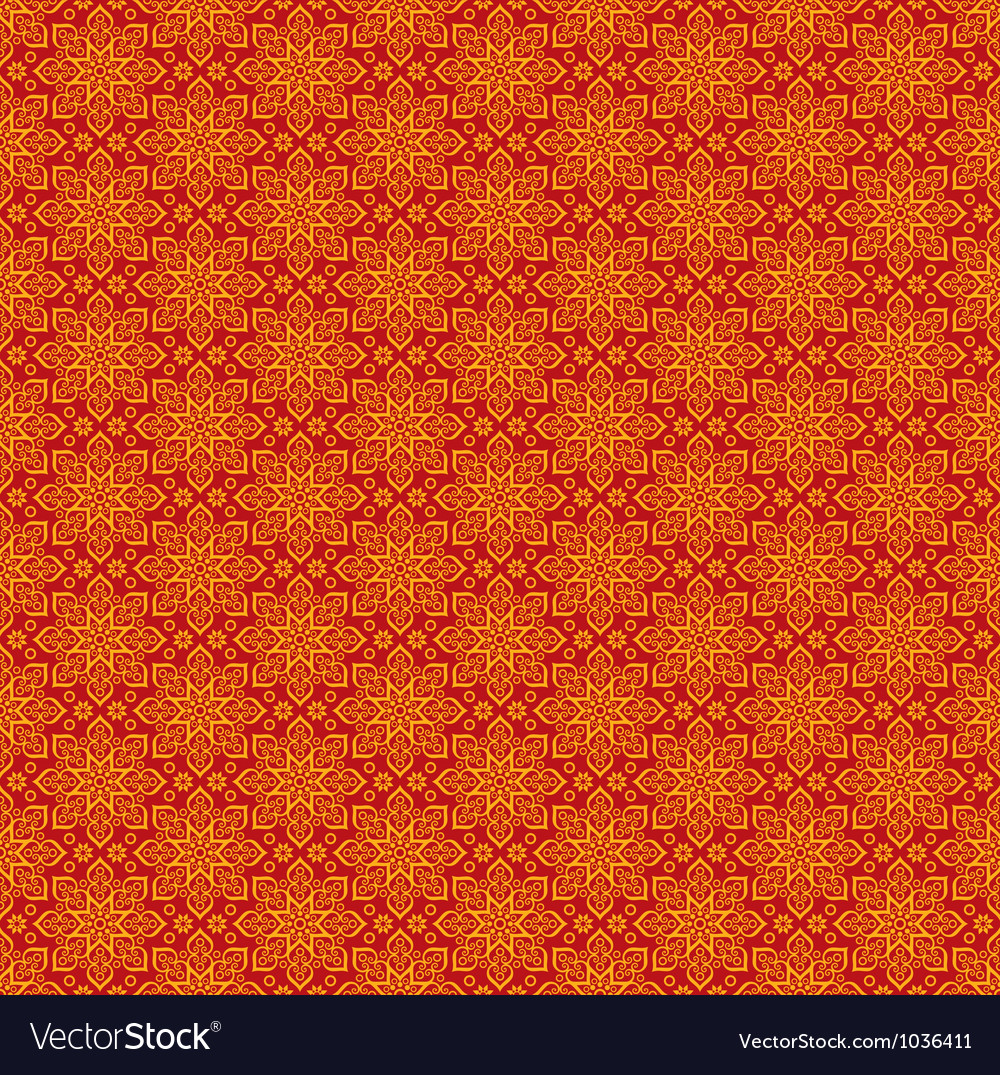 Beautiful oriental pattern vector | Price: 1 Credit (USD $1)
