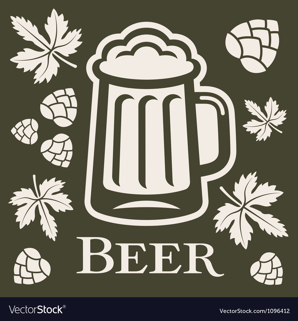 Beer design elements vector | Price: 1 Credit (USD $1)
