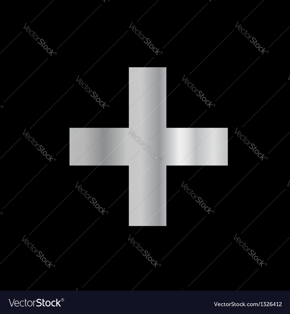 Christianity greek cross vector | Price: 1 Credit (USD $1)