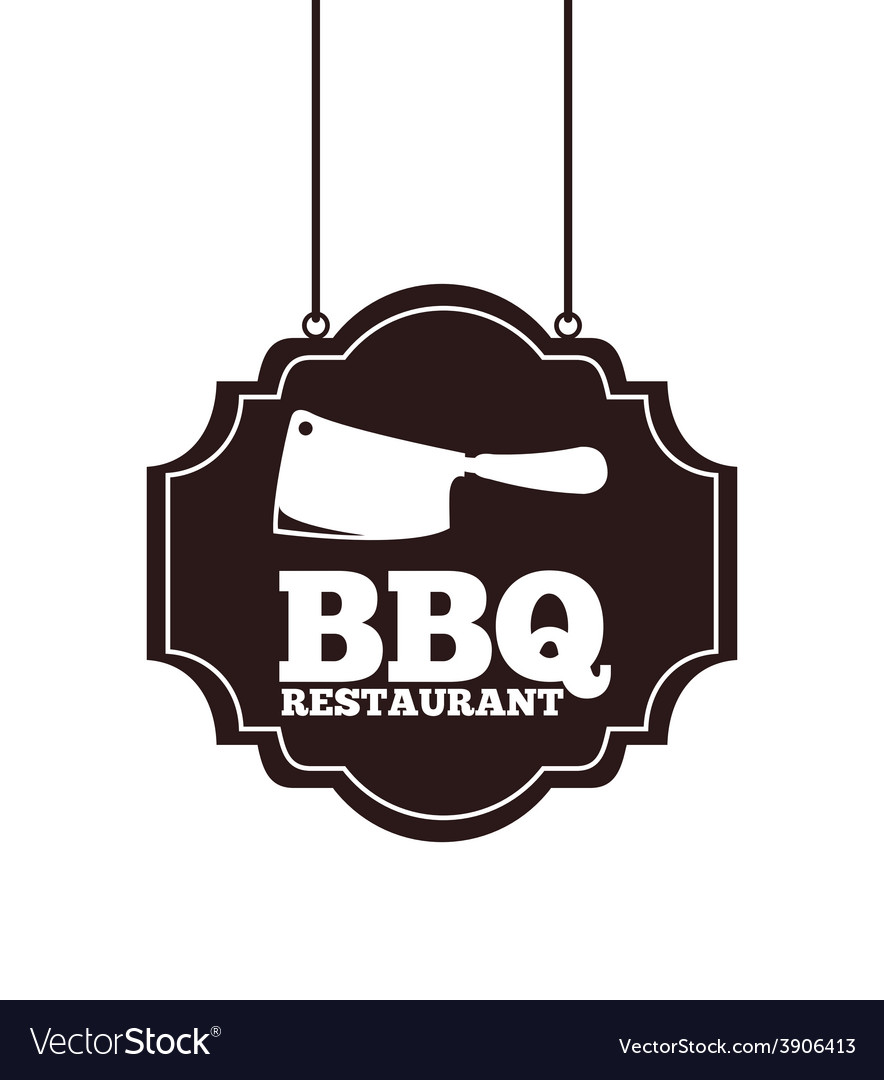 Barbecue restaurant vector | Price: 1 Credit (USD $1)