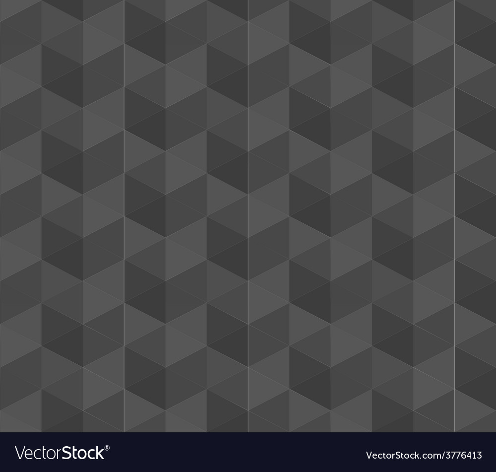 Dark grey geometric seamless pattern background vector   Price: 1 Credit (USD $1)