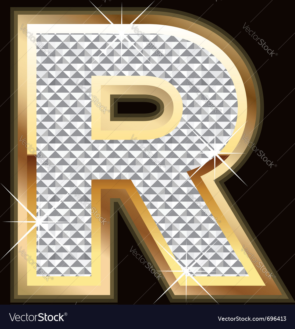 R bling bling vector | Price: 1 Credit (USD $1)