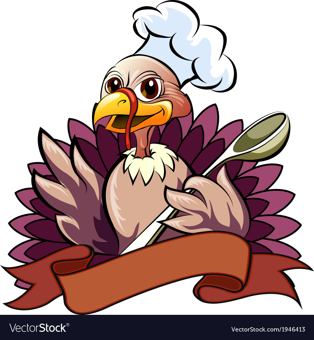 The turkey cook vector | Price: 3 Credit (USD $3)