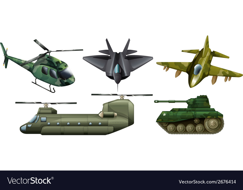 Fighting vehicles vector | Price: 1 Credit (USD $1)