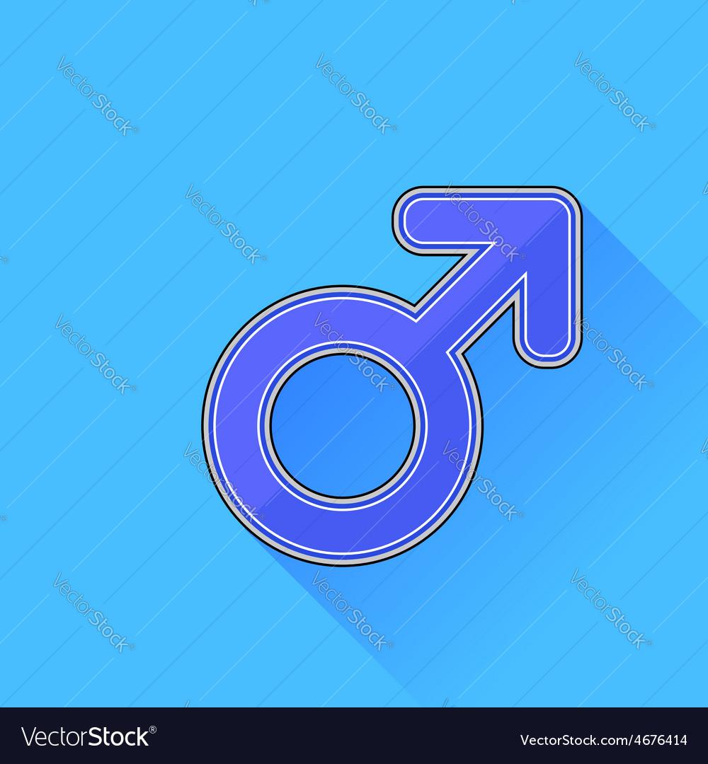 Male icon vector | Price: 1 Credit (USD $1)