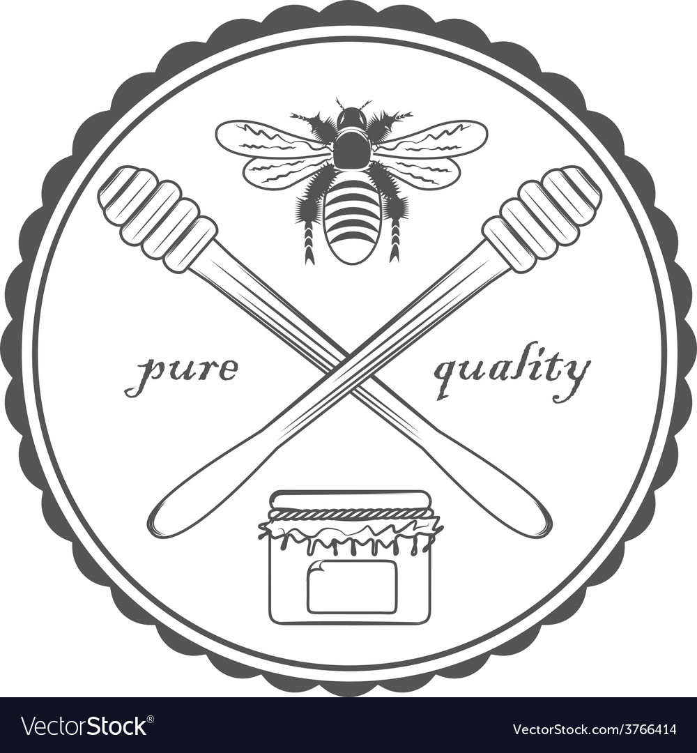 Quality honey vector   Price: 1 Credit (USD $1)