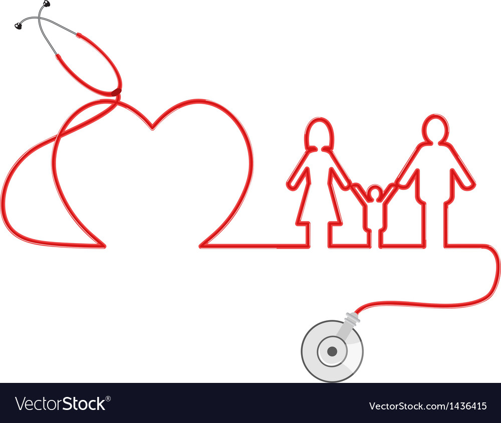 Family healthcare vector | Price: 1 Credit (USD $1)
