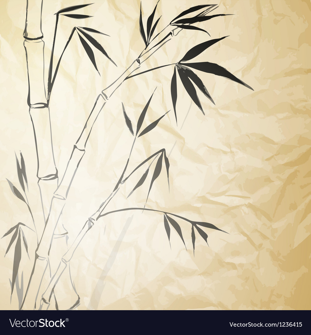 Grunge stained bamboo paper vector | Price: 1 Credit (USD $1)
