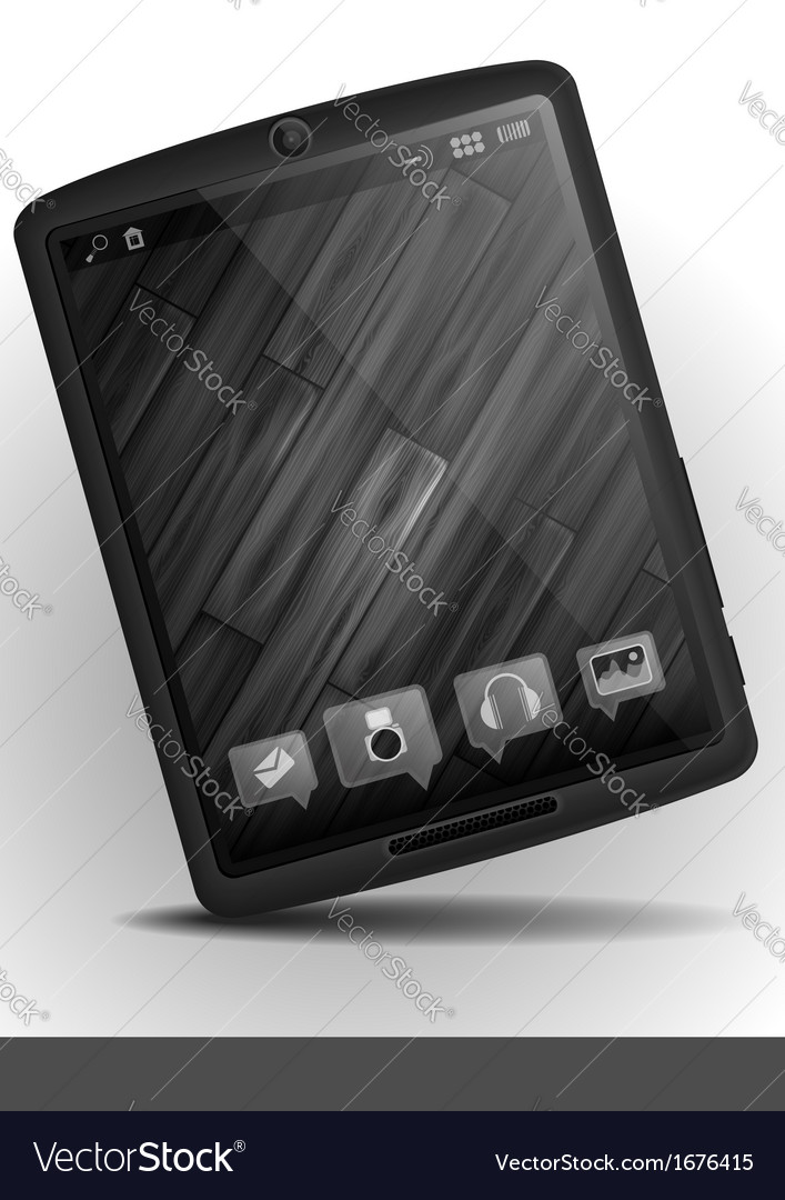 Tablet pc  mobile phone vector | Price: 1 Credit (USD $1)