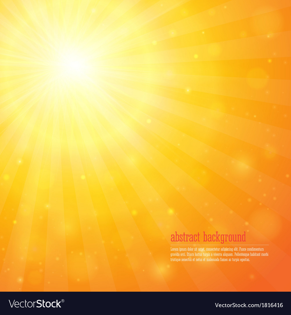 Background with shiny sunbeams vector | Price: 1 Credit (USD $1)