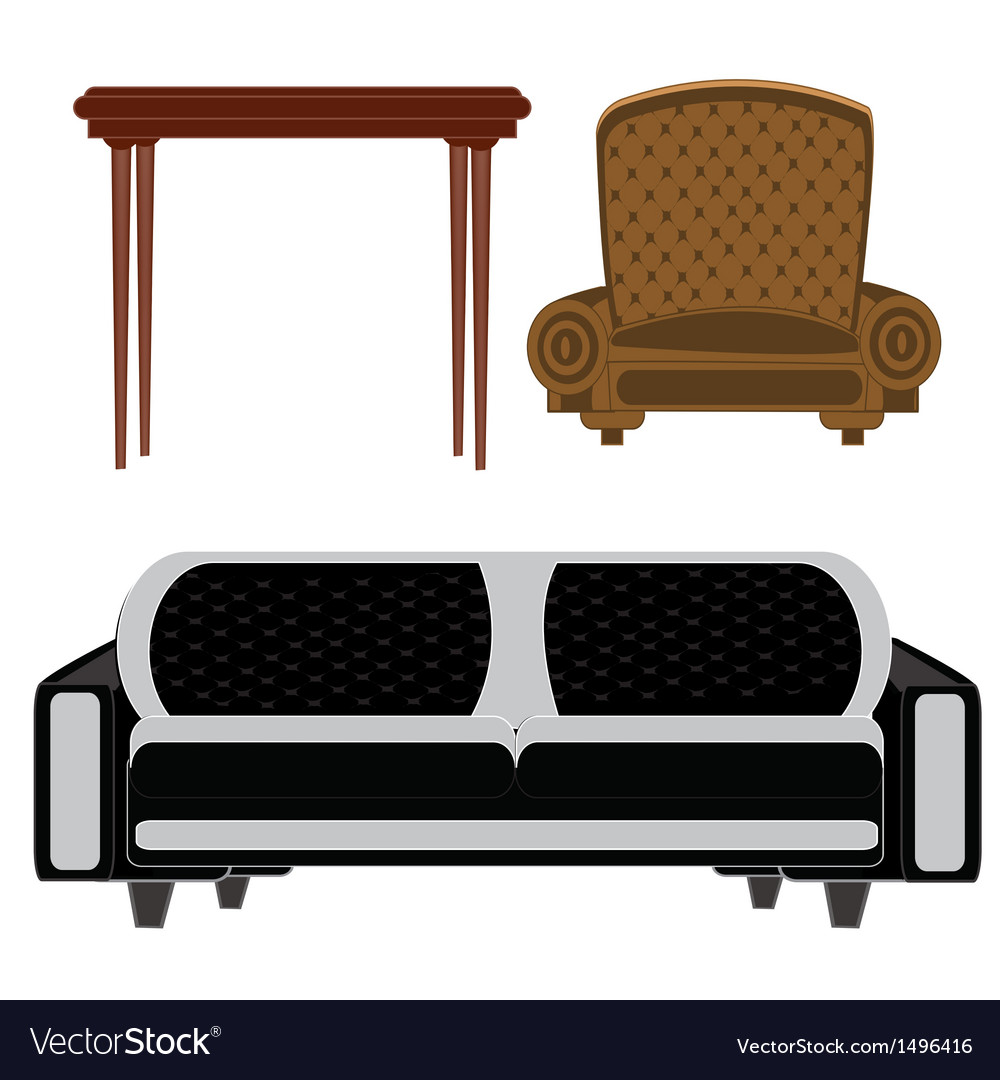 Furniture for building vector | Price: 1 Credit (USD $1)