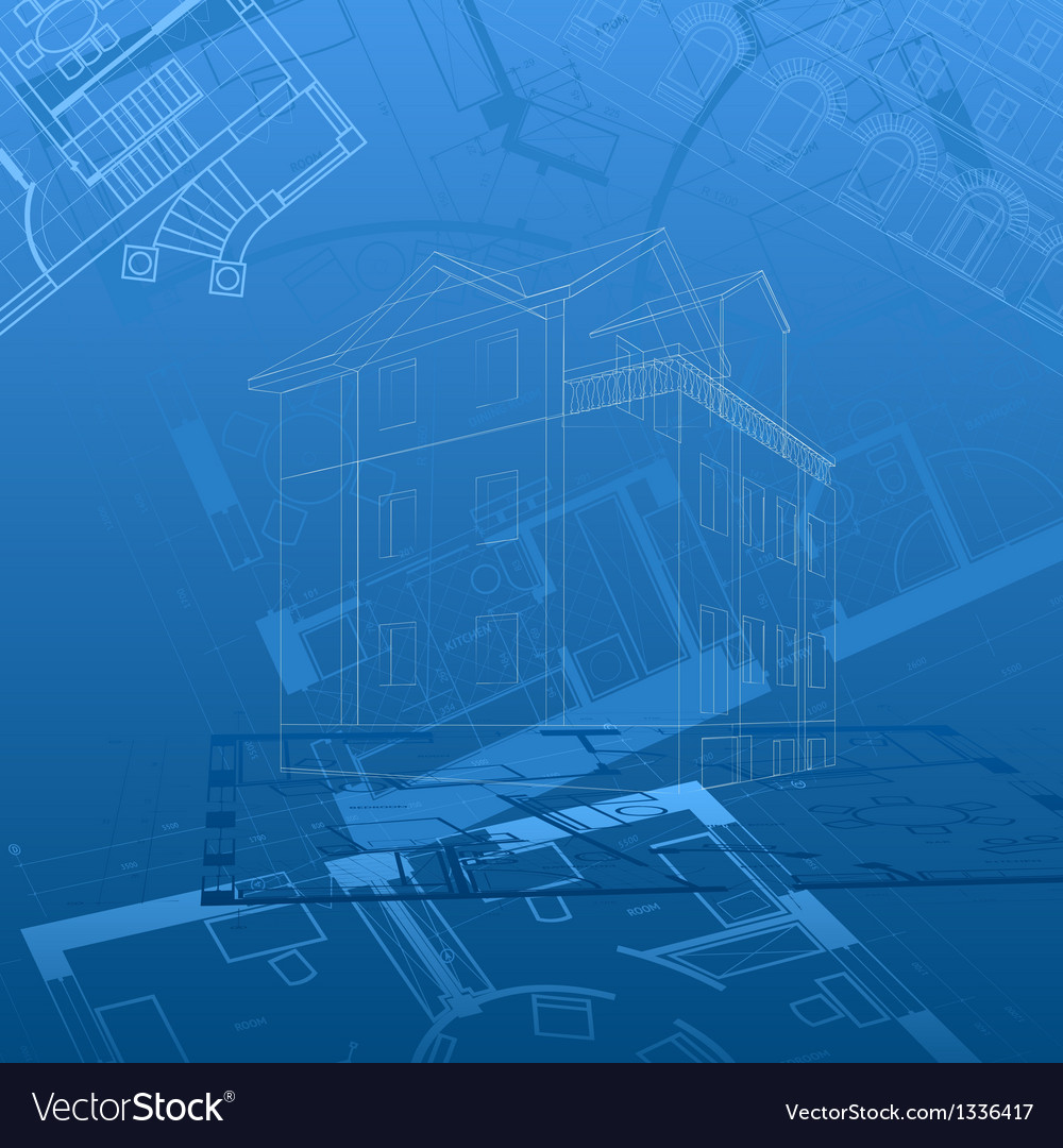 Abstract architectural background vector   Price: 1 Credit (USD $1)