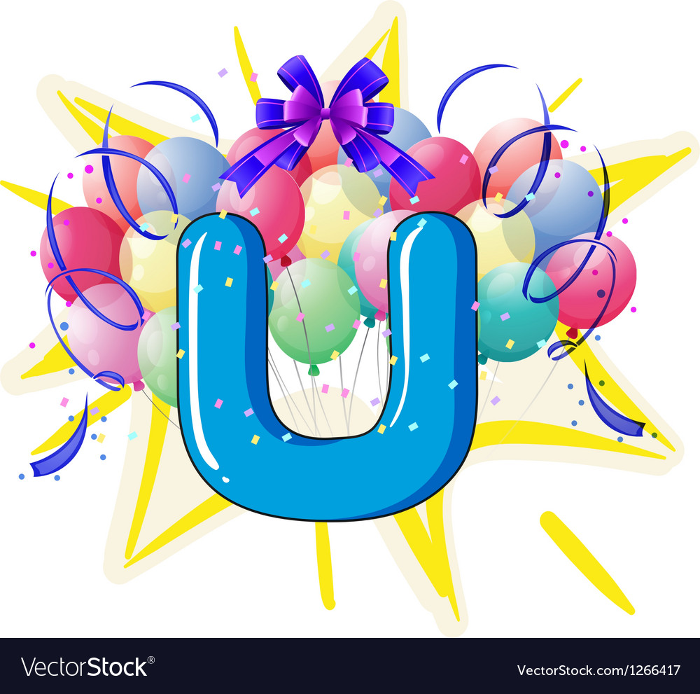 Balloon font series vector   Price: 1 Credit (USD $1)