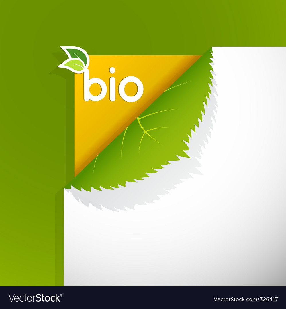 Bio sign vector | Price: 1 Credit (USD $1)