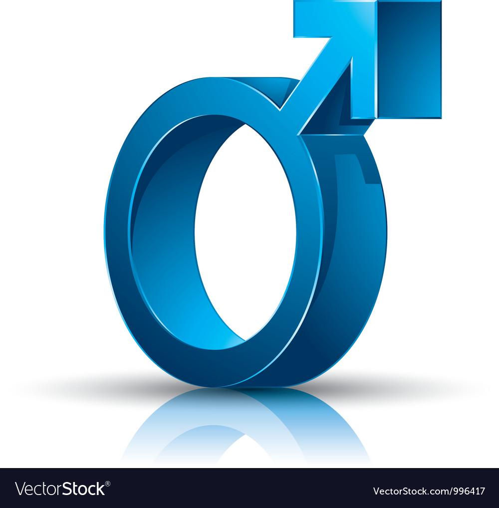 Male symbol vector | Price: 1 Credit (USD $1)