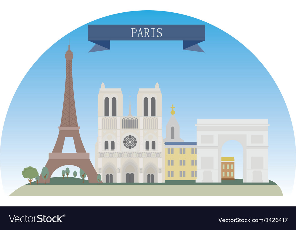 Paris vector | Price: 3 Credit (USD $3)