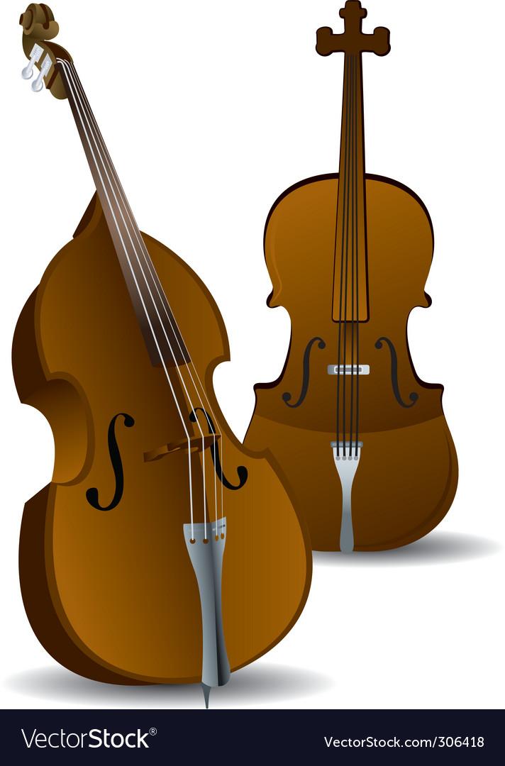 Cellos vector   Price: 1 Credit (USD $1)