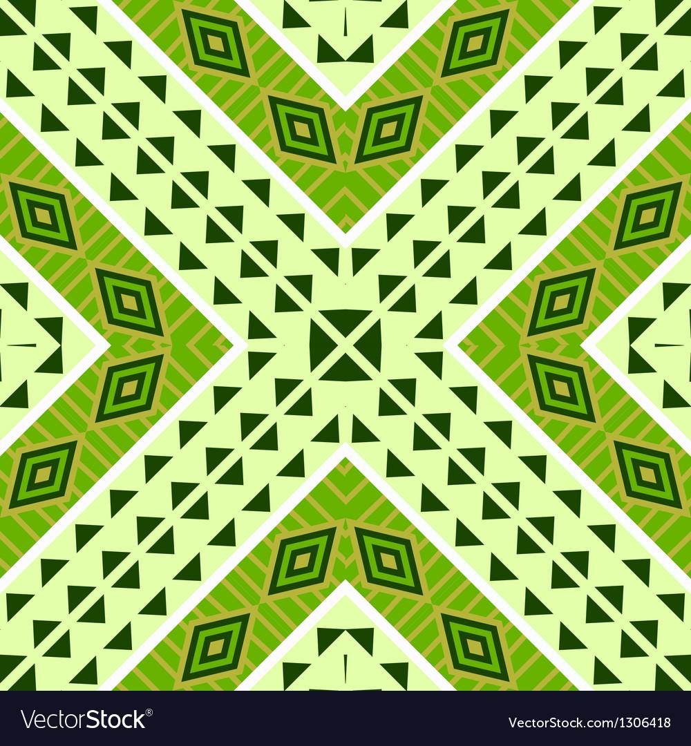 Seamless geometric ethnic tribal pattern vector | Price: 1 Credit (USD $1)