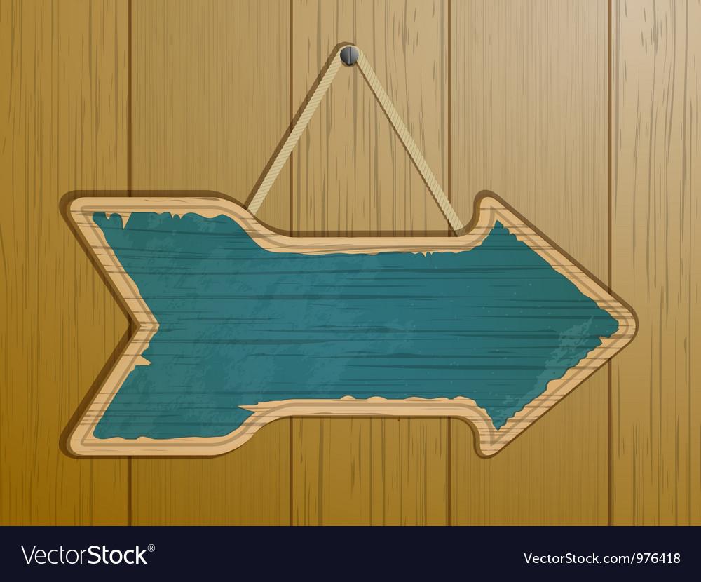 Vintage arrow sign vector | Price: 1 Credit (USD $1)