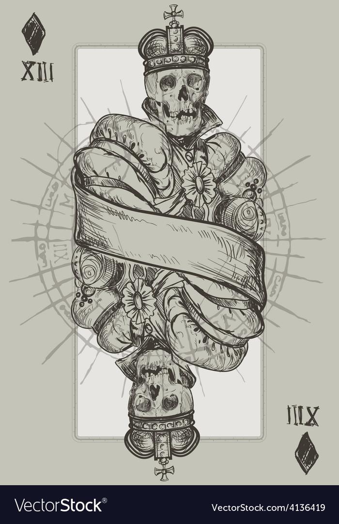 Skeleton king vector | Price: 3 Credit (USD $3)