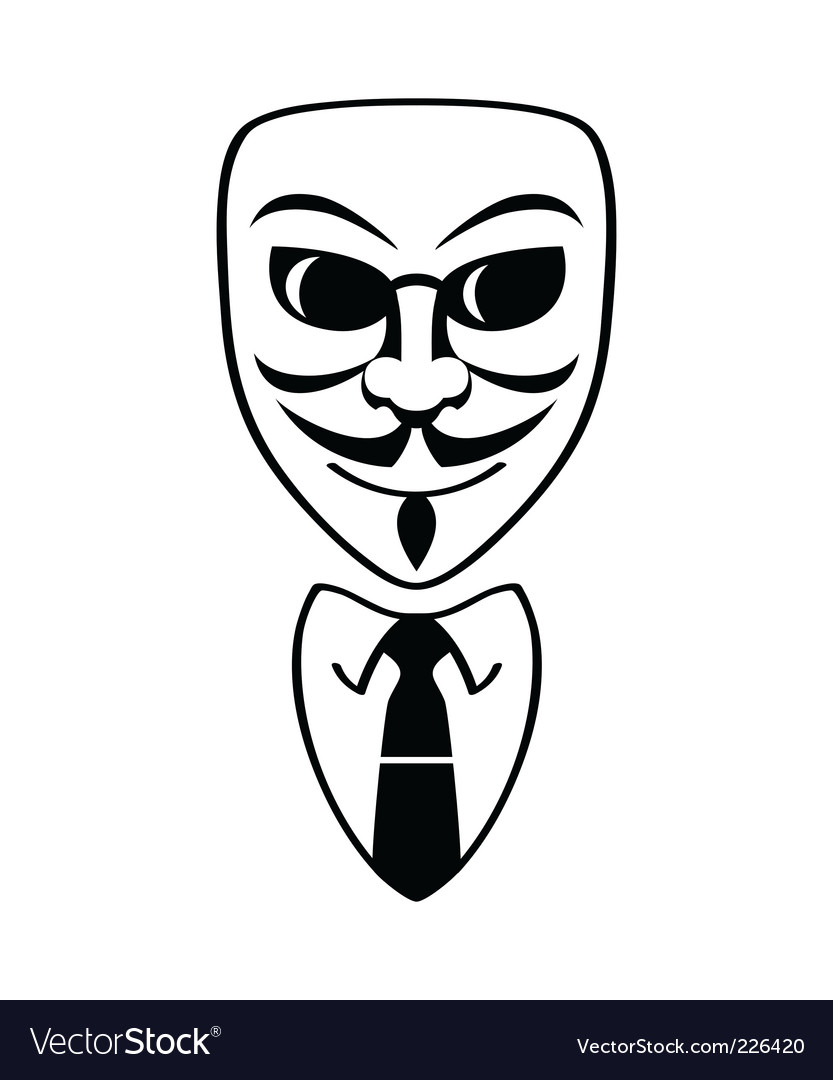 Anonymous symbol vector | Price: 1 Credit (USD $1)