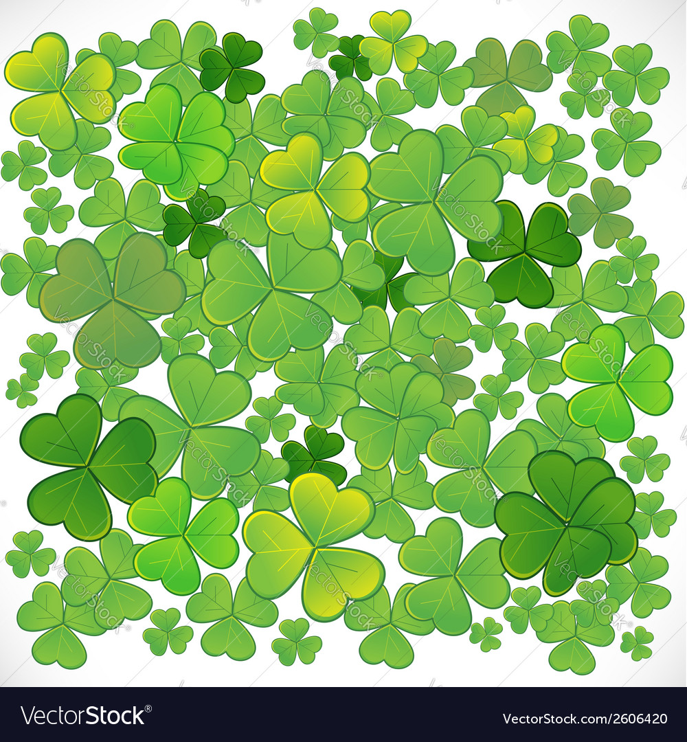 Background with clover eps10 vector | Price: 1 Credit (USD $1)