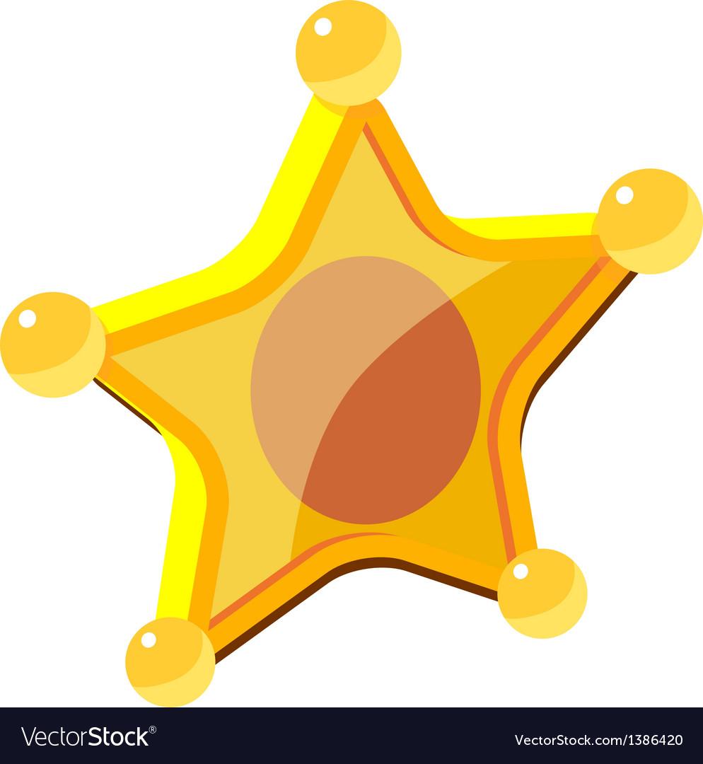 Icon badge vector