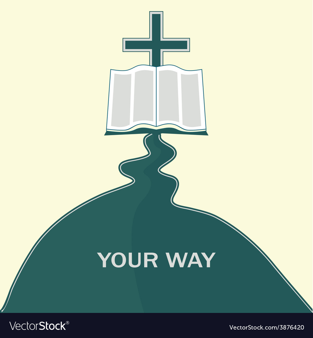 Journey of faith vector | Price: 1 Credit (USD $1)