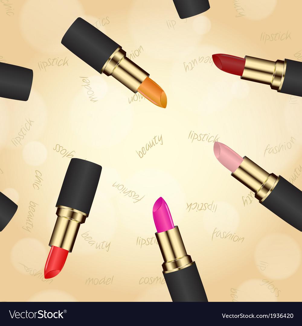 Lipstick texture seamless vector | Price: 1 Credit (USD $1)