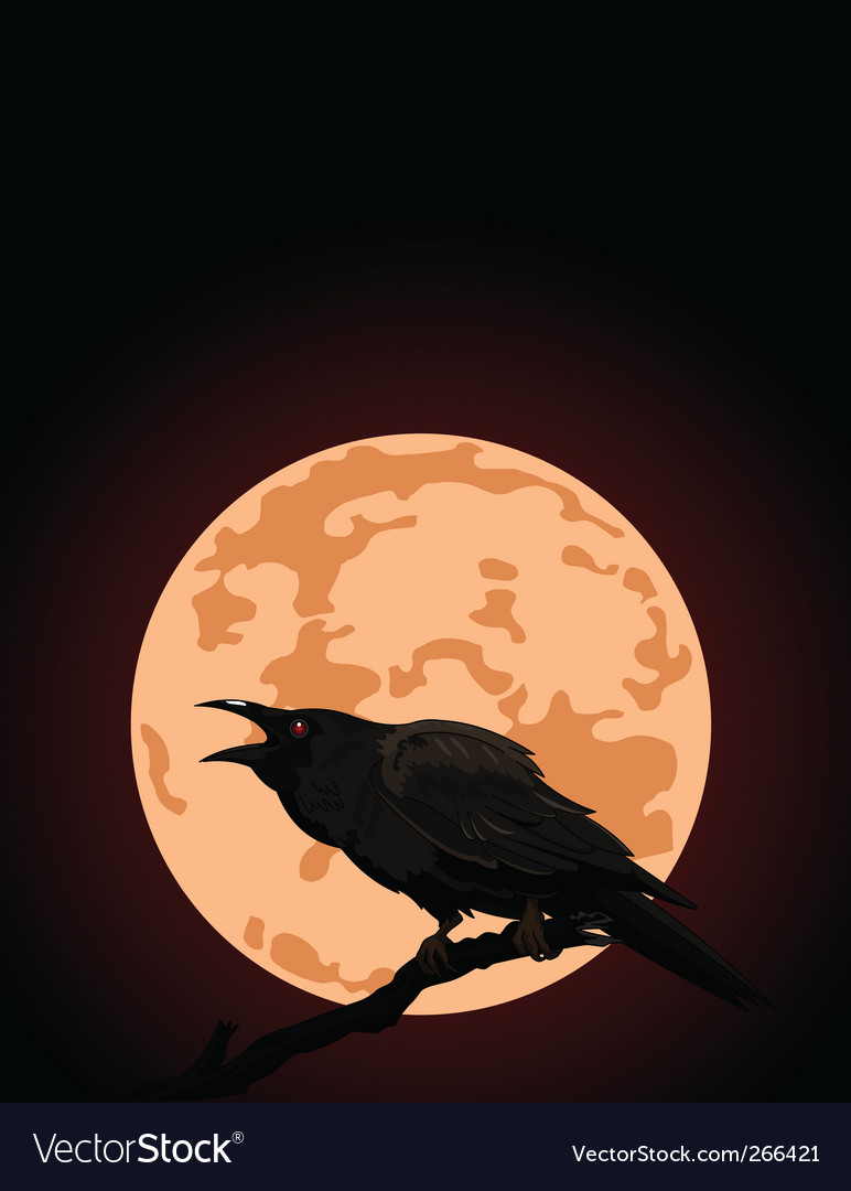 Full moon vector | Price: 3 Credit (USD $3)